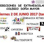 Fiesta Fin de curso APYMA 2 y 3 de junio