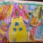 Premios de Doña Mayor concurso de dibujos Halloween. British-PAI
