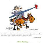 Día del libro en Doña Mayor. 23 de abril